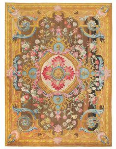 Louis XV Savonnerie carpet, France, c 1740 – 1760, Christies sale 2014