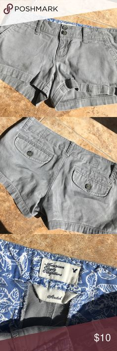 American eagle shorts! Perfect condition , stretch material American Eagle Outfitters Shorts Cargos