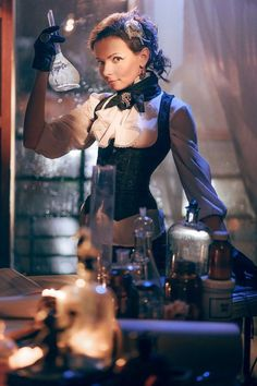 Steampunk Tendencies | Photographies by  Dmitri Tchernov Steampunk...