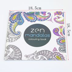 Page 24 Flower Mandala Coloring Book For Children Adults To Ease The Pressure To Spend Time Painting Graffiti Painting Art Books