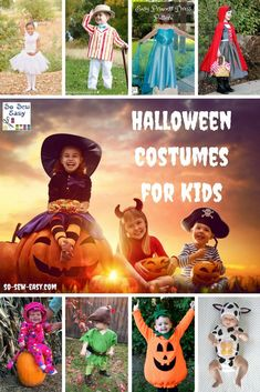 Halloween is just around the corner. Here's a huge collection of Halloween costumes for kids and I'm sure you'll find something for even the most finicky.