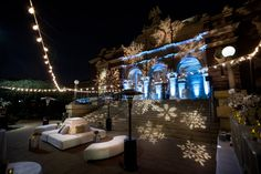 "<p> For the corporate holiday party at the <a href=""http://www.bizbash.com/natural-history-museum-of-los-angeles/los-angeles/listing/810316"">Natural History Museum</a> in Los Angeles, event design and production company..."