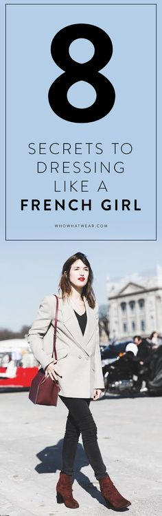 8 ways to get fashionable, French style