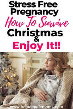 Are you pregnant at Christmas and need a guide to make it through the holidays? Here are the best tips to get you thorugh this holiday season!