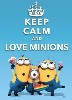 #MiVillanoFavorito2 #Minions #KeepCalm Love this little minions, in the movie Despicable Me, so funny and happy