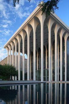 Daddy Long Legs 1965 Former Northwestern National Life Insurance Building (Now ING) | Architect: Minoru Yamasaki & Associates Minneapolis, Minnesota | Photo: Pete Sieger - Via