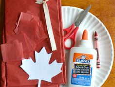 The kids will have a blast making their very own patriotic decorations for Canada Day this year. Outdoor Activities For Kids, Summer Activities, Senior Activities, Work Activities, Crafts For Seniors, Crafts For Kids, Canada For Kids, Canada 150, Maple Leaf Template