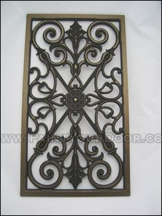 Wrought Iron Designs For Windows Picture of a sample