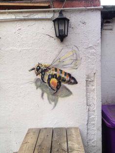 Mural Painting, Mural Art, Wall Paintings, Illusion Drawings, Flower Mural, Ghost In The Machine, Art Folder, Murals Street Art, Sculpture Clay