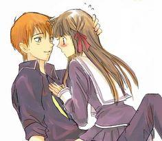 Kyo & Tohru awwwww <3