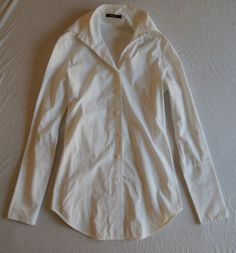 Kimberly Ovitz White Button Down Shirt  Now on www.FullCircleFashion.com
