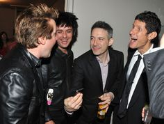 """Billie has a copy of the family CD """"The Boo"""" in his pocket!  <3"""