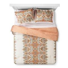 Anya Reversible Damask Print Comforter and Sham Set - Mudhut™ : Target