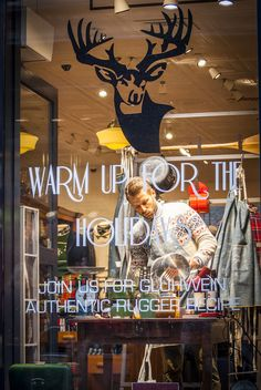 CHAD'S DRYGOODS: GANT HAARLEM - WARM UP FOR THE HOLIDAYS