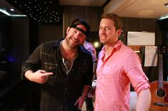 Celebrity Motor Homes host Drew Waters with Lee Brice. See MORE pics of where celebs lay their head on the road here>> http://www.greatamericancountry.com/shows/celebrity-motor-homes/top-25-celebrity-motor-homes--pictures?soc=pinterest