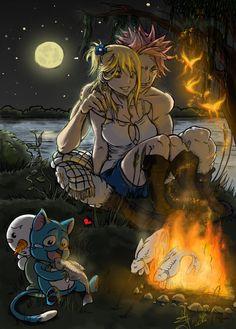 Collab: Fairy Tail - Calm evening by Hi-Agni.deviantart.com on @deviantART