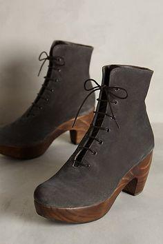 wooden soles
