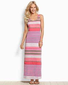 Tommy Bahama - Buff Bay Stripe Maxi Dress
