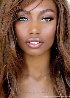 Beautiful face, beautiful eyes-she reminds me of Adriana Lima! My Black Is Beautiful, Beautiful Eyes, Beautiful People, Beautiful Women, Beautiful Person, Beauty Makeup, Hair Beauty, Lip Makeup, Makeup Contouring