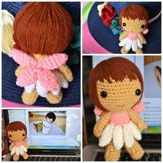amigurumi / crochet fairy