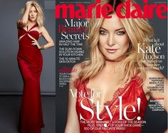 Official: Kate Hudson Takes Over Covers For Marie Claire Magazine Oct. 2016 Issue   Talks About Her Love Life and Being A Working Single Mom