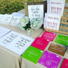 """""""Bless Your Heart"""" notecard sets (copyright by every true southern lady) and handmade greeting cards."""