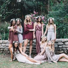 What could be better than friends and flower crowns?