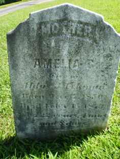 Genealogical Gems: Tombstone Tuesday: Amelia Kunkle Eckman