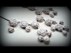 Cuentas facetadas en arcilla polimérica - Polymer clay faceted beads - YouTube