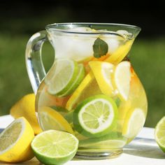 Better Water, Better Health! Try The Fruit Infused Water Challenge
