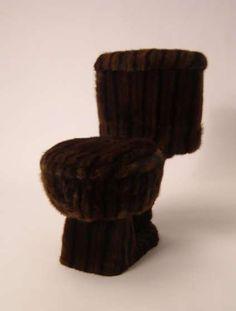A mink toilet!