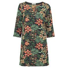 <p>Nieuwe lente/zomer collectie van Le Pep! Deze Elicai Dress Multicolor met fleurige tropische bloemen pracht.</p>