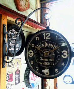 Relógio Estação com Mão Francesa Jack Daniels G