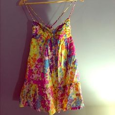 Abercrombie and Fitch Floral dress Never worn!! Perfect for spring and summer!! Abercrombie & Fitch Dresses
