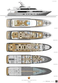 45 meter Luxury Yachts | Luxury Yachts, Superyachts and Mega Yachts Builder | Sunrise Yachts - Sunrise Yachts History | Hebert Peter Baum, Guillaume Roché ©, Yachts Builders | Sunrise Yachts | Sunrise Yachts