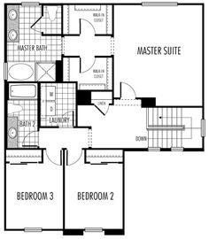 Addition: master bed/bath/closet