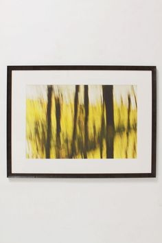 Trunks Over Yellow, 2004 - Anthropologie.com