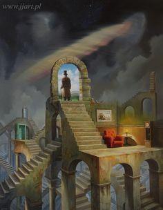 """""""Labyrinth of the mind"""" - 2016 -  Jarosław Jaśnikowski"""