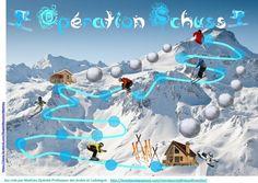Opération Schuss un jeu coopératif de Calcul pour élèves de cycle 2.