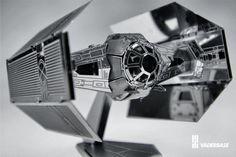 metal earth model star wars darth vader tie fighter