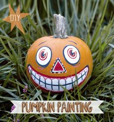 Nice to meet ya, we're Jessa and Judd from Pearl + Earl's Good-Time Vintage Blog, and this is our pumpkin! Click here for the whole step-by step with more photos and text. We'd love to hear what you think!  xo P + E