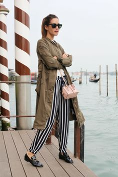 Look of the Day.337: Venice with Stripes