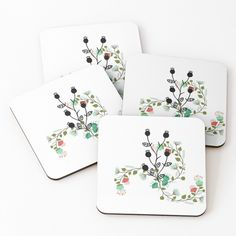 'Floral portratit' Coasters by Table Coasters, Coaster Set, Pattern Design, Floral Design, My Arts, Art Prints, Printed, Awesome, Artwork