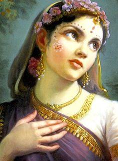 Radharani, queen consort of Krishna Radha Krishna Wallpaper, Radha Krishna Images, Lord Krishna Images, Krishna Photos, Krishna Pictures, Krishna Radha, Krishna Love, Indian Women Painting, Indian Art Paintings