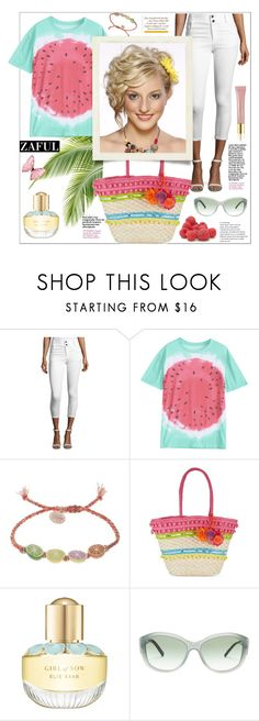 """Zaful"" by natalyapril1976 on Polyvore featuring Mode, Alice + Olivia, Venessa Arizaga, Franchi, Elie Saab, Burberry, AERIN und Disney"