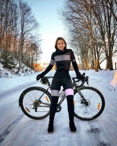 "pedalhero: ""Margrethe Adde "" Best Picture For Cycling Women outfit For Your Taste You Bicycle Women, Road Bike Women, Bicycle Girl, Cycling Wear, Cycling Girls, Cycling Outfit, Zwift Cycling, Triathlon, Mountain Biking Women"