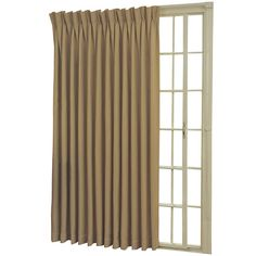 Eclipse® Rod-Pocket/Back-Tab Patio Door Thermal Blackout Curtain Panel  - JCPenney