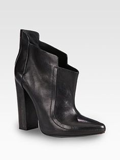 Alexander Wang - Kim Leather Ankle Boots