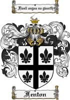 Fenton Coat of Arms / Fenton Family Crest