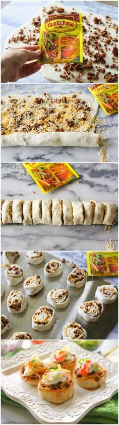 Food and Drink: Taco Pizza Rolls